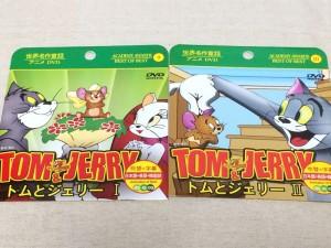 100均 100円ショップ 100円均一 ディズニー DVD 映画 アニメ グッズ トムとジェリー