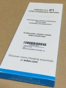 Anker® プレミアムライトニングUSBケーブル iPhone 充電 ケーブル 安い 充電器 1.8m iPhone 6s  6s Plus  iPhone 6  6 Plus  5  iPad Air  コンパクト端子 長い レビュー