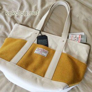 しまむら ハリスツイード バッグ コラボ トートバッグ 2016 春 メンズ レディース 値段 ブログ 価格 写真 帆布