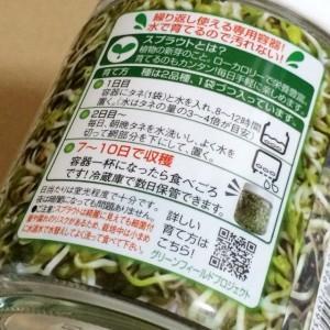 私のスプラウト スプラウト 瓶 栽培 栽培キット 育て方 栽培方法 作り方 野菜 家庭菜園 簡単