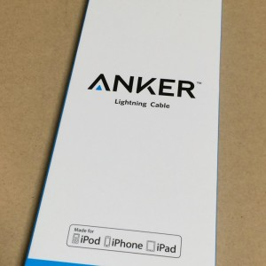 Anker® プレミアムライトニングUSBケーブル iPhone 充電 ケーブル 安い 充電器 1.8m iPhone 6s / 6s Plus / iPhone 6 / 6 Plus /5 / iPad Air / iPad mini 用 コンパクト端子 長い
